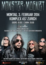 2014-02-03 Monster Magnet - flyer