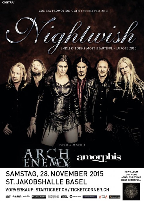 Nightwish 2015-11-28