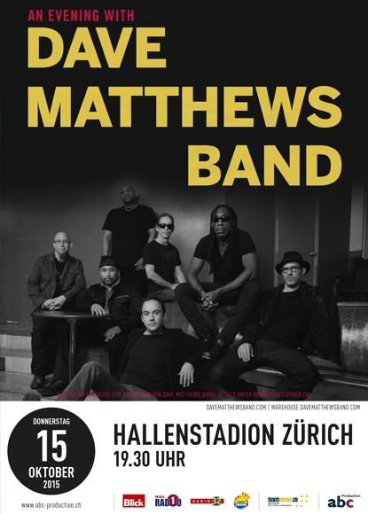 2015-10-15 Dave Matthews Band flyer