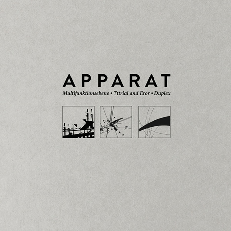 Apparat - Multifunktionsebene / Tttrial And Eror / Duplex