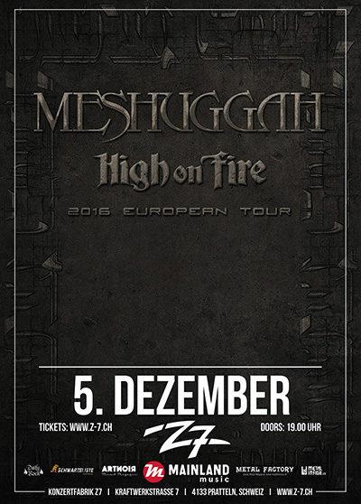 Meshuggah 2016-12-05
