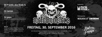 Metal Masters @ Amboss Rampe | Zürich | Zürich | Schweiz
