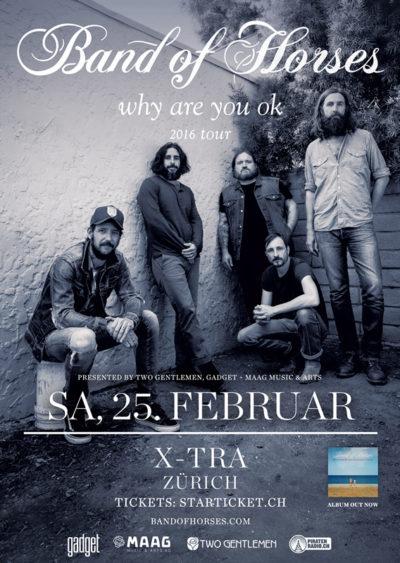 Band Of Horses @ X-TRA | Zürich | Zürich | Schweiz