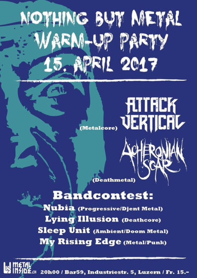 Nothing But Metal - Warmup Party 2017-04-15