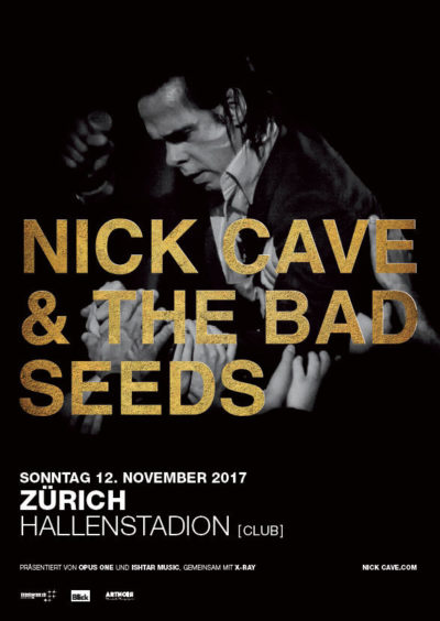 Nick Cave & The Bad Seeds 2017-11-12