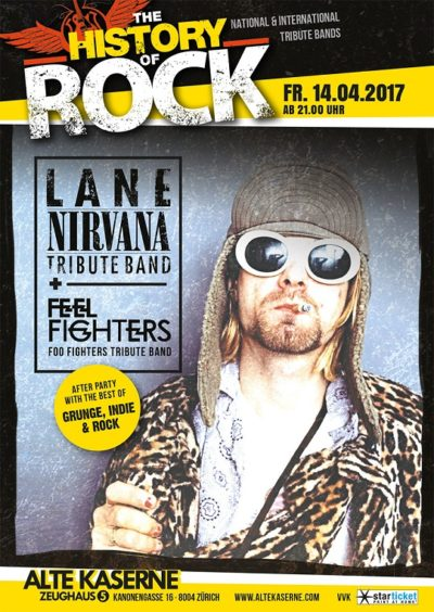 A Tribute To Nirvana & Foo Fighters 2017-04-14