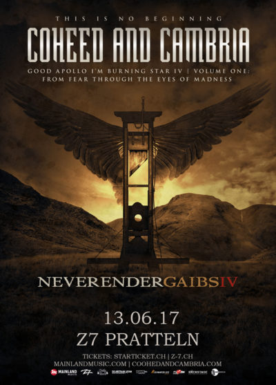 Coheed And Cambria 2017-06-13