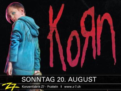 KoЯn 2017-08-20