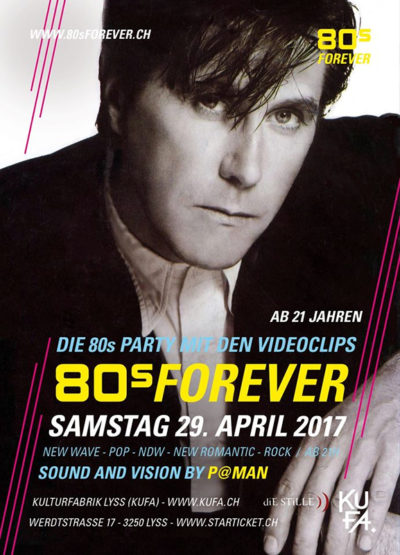80s Forever + Depeche Mode Party