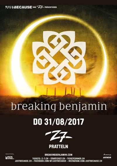 Breaking Benjamin 2017-08-31