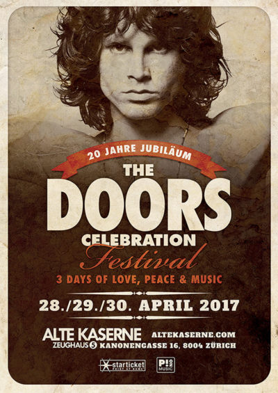 The Doors Celebration Festival 2017