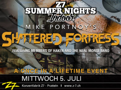 Mike Portnoy's Shattered Fortress 2017-07-05