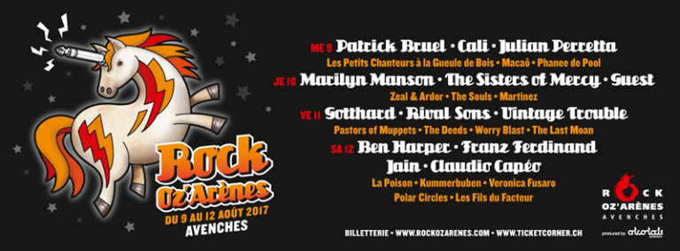 Rock Oz'Arènes 2017