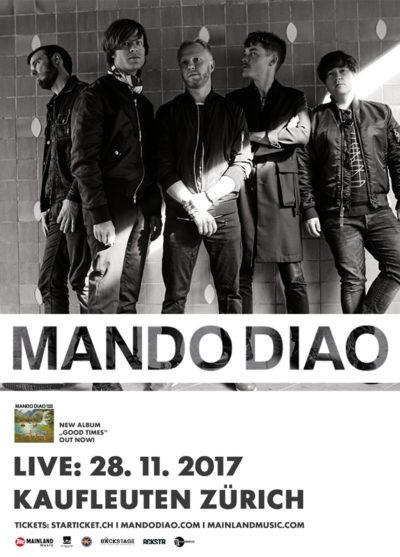 Mando Diao 2017-11-28