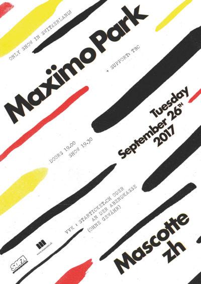 Maximo Park 2017-09-26