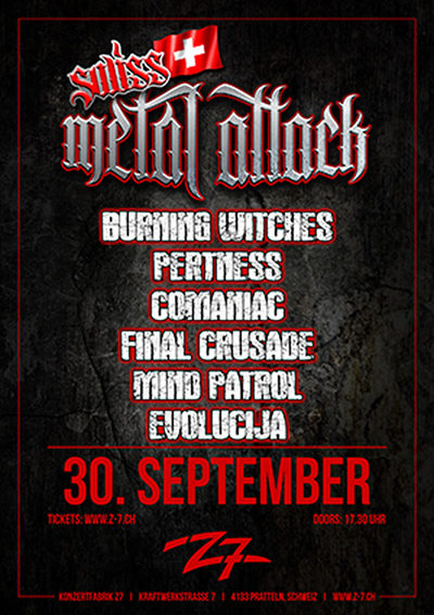 Swiss Metal Attack 2017-09-30