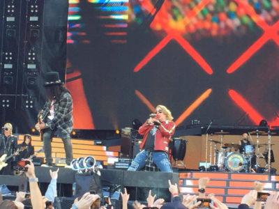 Bericht Guns N' Roses 2017-06-07