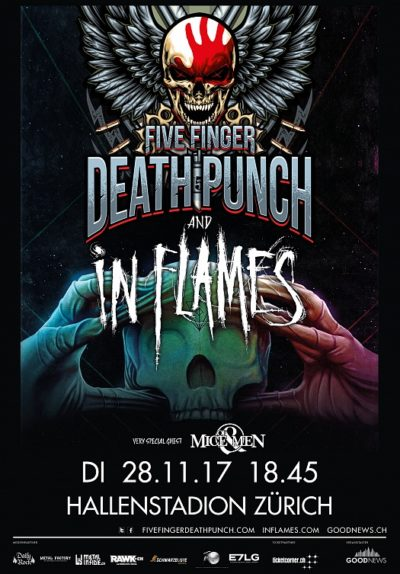 Five Finger Death Punch 2017-11-28