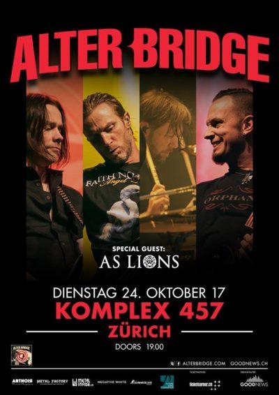Alter Bridge 2017-10-24