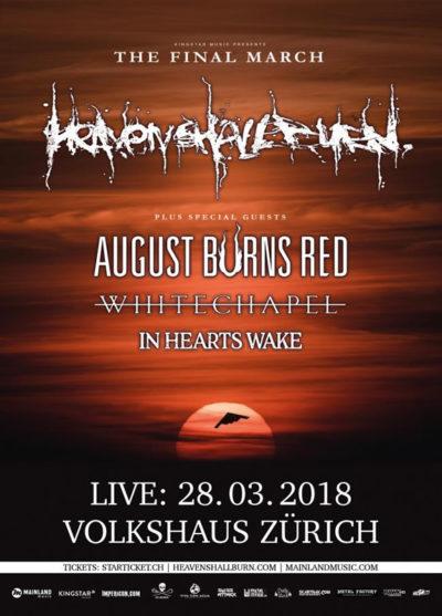 Heaven Shall Burn 2018-03-28