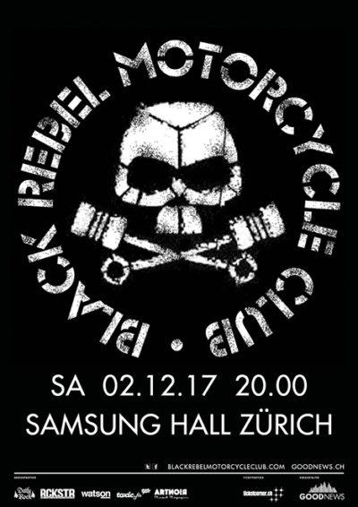 Black Rebel Motorcycle Club 2017-12-02