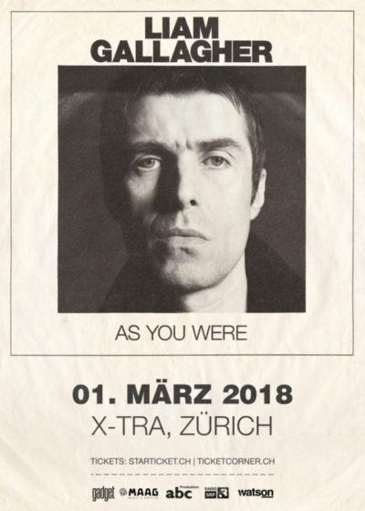 Liam Gallagher 2018-03-01