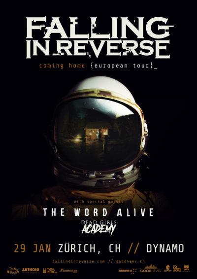 Falling In Reverse 2018-01-29