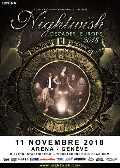 Nightwish 2018-11-11