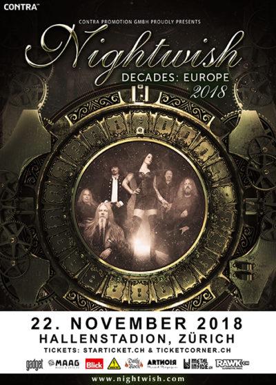 Nightwish 2018-11-22