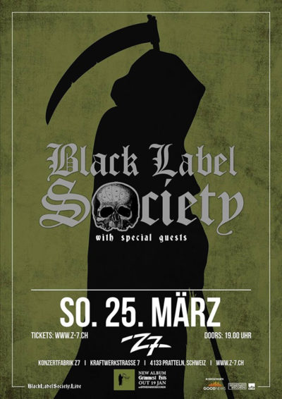 Black Label Society 2018-03-25