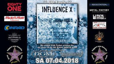 Influence X 2018-04-07