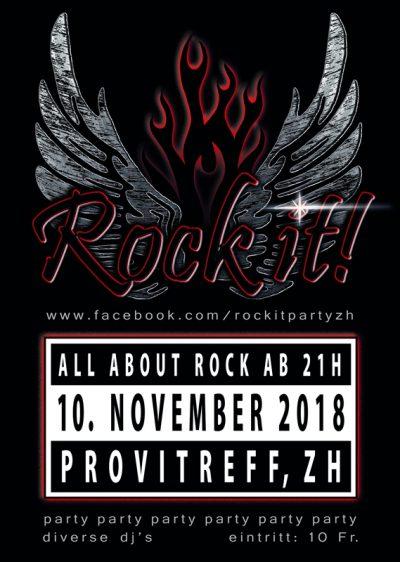 Rock It! Party 2018-11-10
