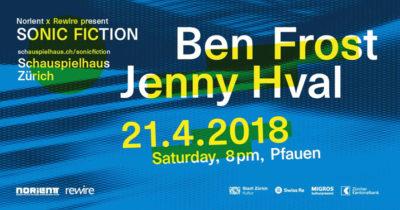 Ben Frost 2018-04-21