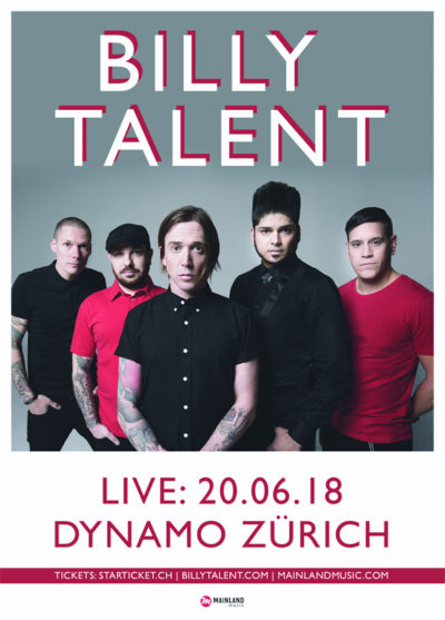 Billy Talent 2018-06-20