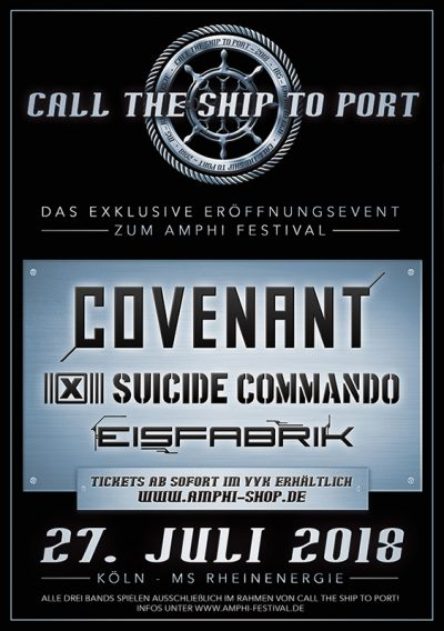 Call The Ship To Port 2018