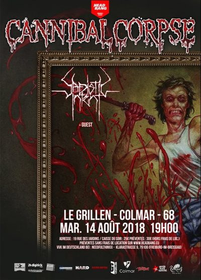 Cannibal Corpse 2018-08-14