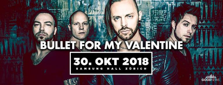 Bullet For My Valentine 2018-10-30