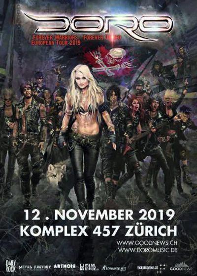 Doro @ Komplex 457 | Solothurn | Solothurn | Schweiz