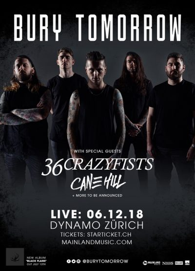 Bury Tomorrow 2018-12-06
