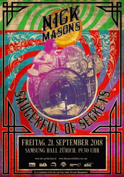 Nick Mason's Saucerful of Secrets 2018-09-21