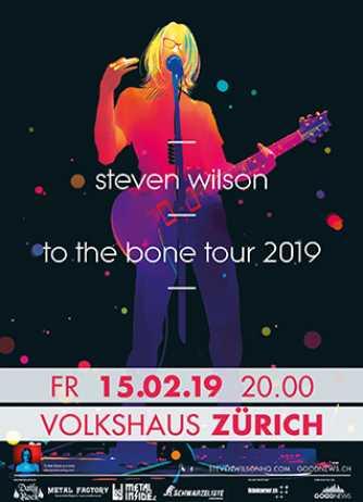 Steven Wilson @ Volkshaus | Zürich | Zürich | Schweiz