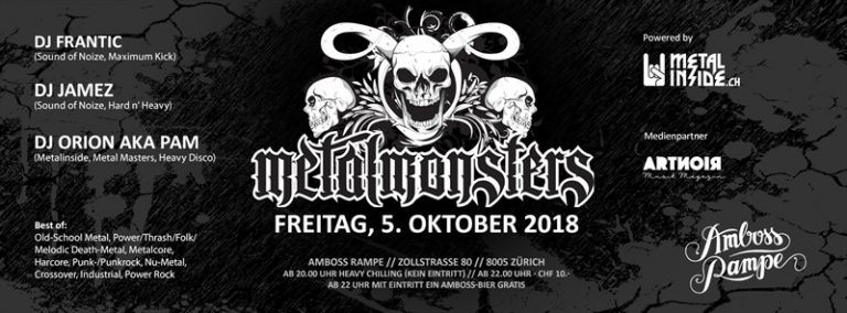 Metal Monsters 2018-10-05