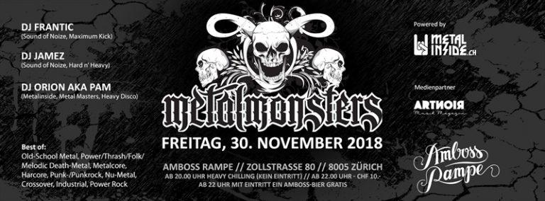 Metal Monsters 2018-11-30