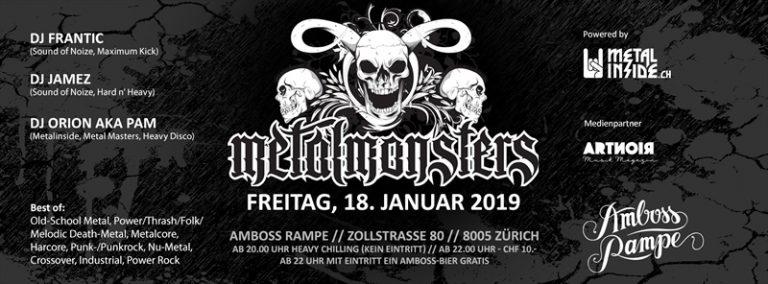 Metal Monsters 2019-01-18