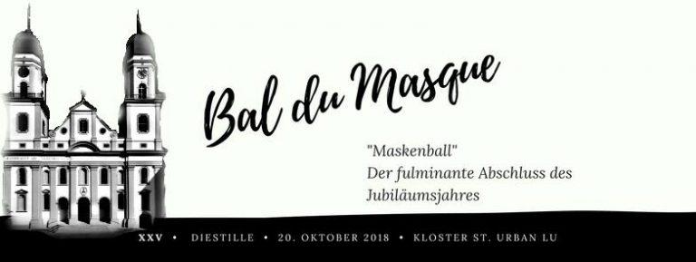 25 Jahre dieStille - Bal du Masque 2018-10-20