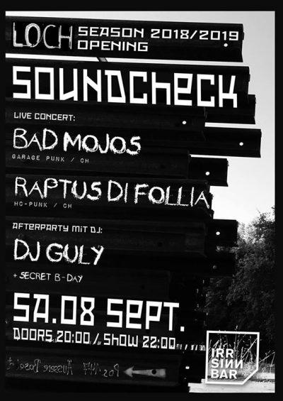 Bad Mojos 2018-09-08