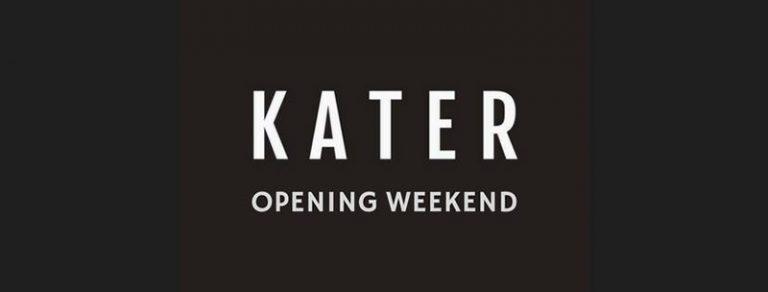 Kater Opening Weekend 2018-09-14