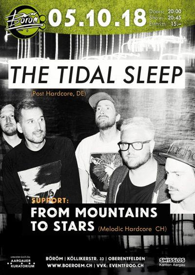 The Tidal Sleep 2018-10-05