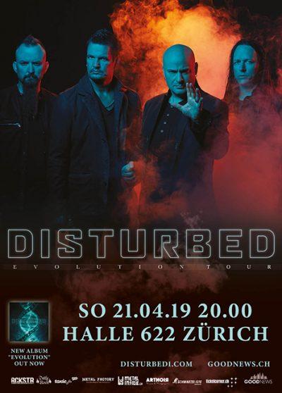 Disturbed @ Halle 622 | Zürich | Zürich | Schweiz