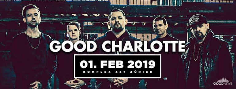Good Charlotte 2019-02-01
